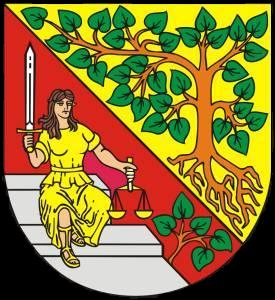 Krasna Lipa Coat of Arms